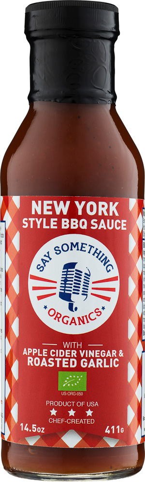 Say Something New York Style BBQ Sauce