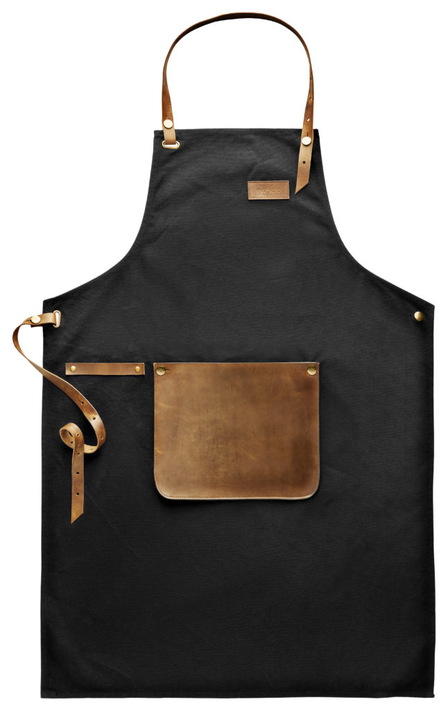 EvaSolo Apron canvas and leather Spread out förkläde