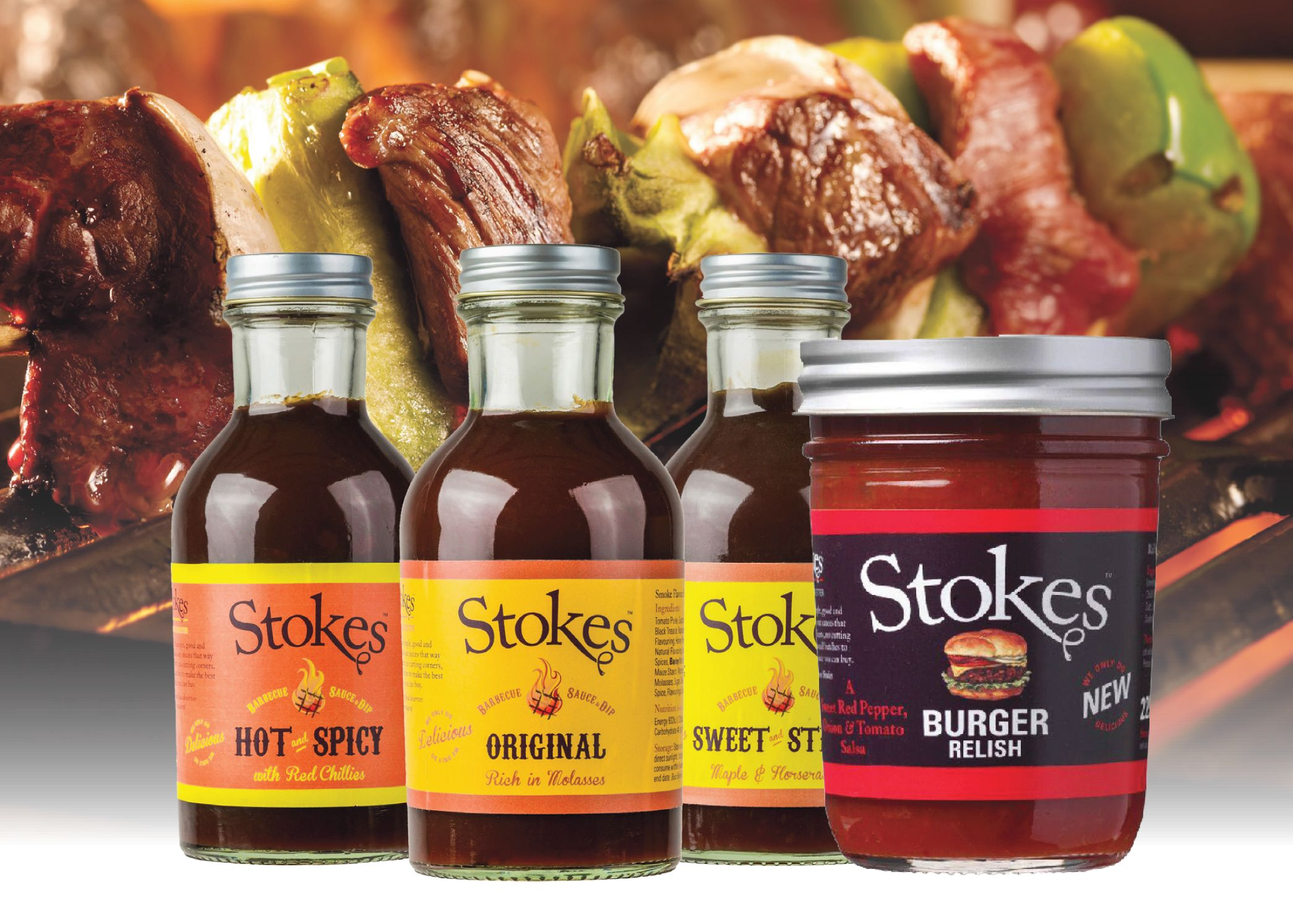 Stokes BBQ grill Sauces