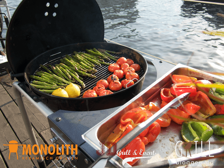 luxeevent grillevent monolith grill gronsaker
